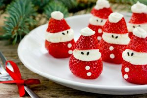 Strawberry Santas that are safe for braces in Rutland
